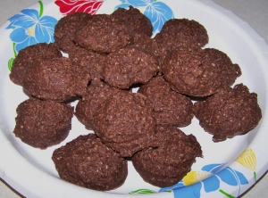 Grain Free No-Bake Cookies
