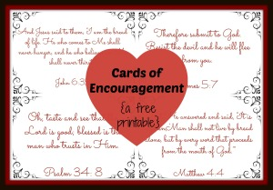 Cards of Encouragement