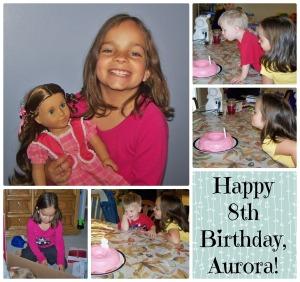 Happy 8th Birthday, Aurora
